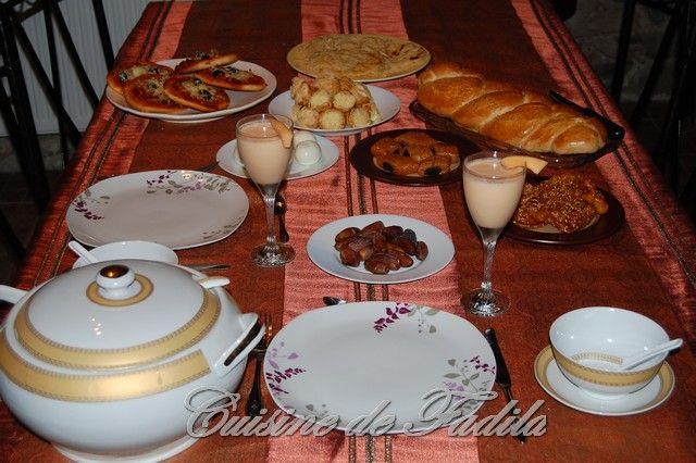 Table Marocaine Ramadan Table du Ramadan