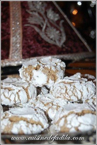 La ghriba est une délicieuse pâtisserie craquelée que j'adore