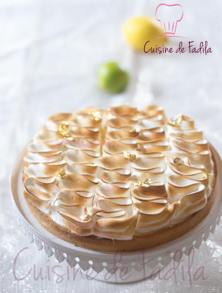Tarte au citron meringu e recette en vid o cuisine de fadila - Cuisine de bernard tarte au citron ...