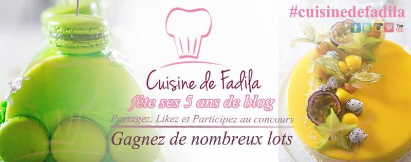 5 ans de blog concours anniversaire cuisine de fadila. Black Bedroom Furniture Sets. Home Design Ideas