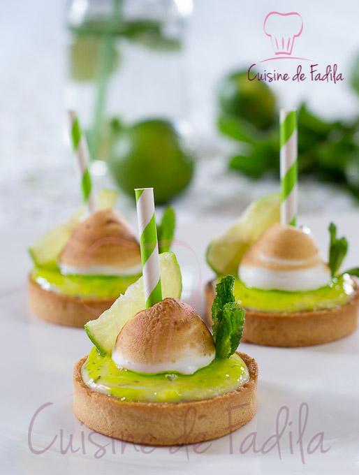 Tartelettes mojito cuisine de fadila - Recette mojito thermomix ...
