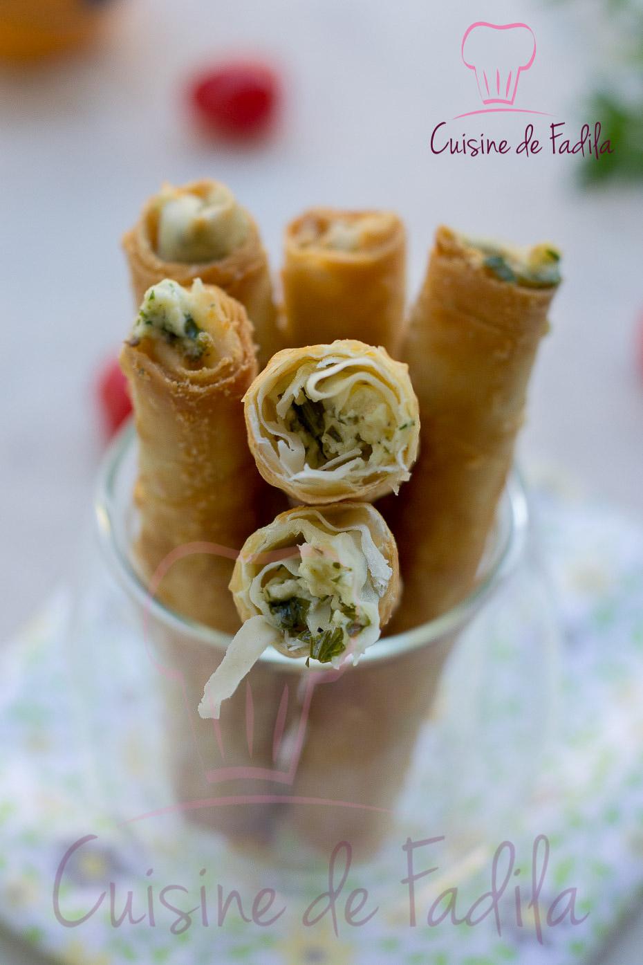 Sigara b re i ou cigare au fromage recette en vid o cuisine de fadila - Recette de cuisine en video ...