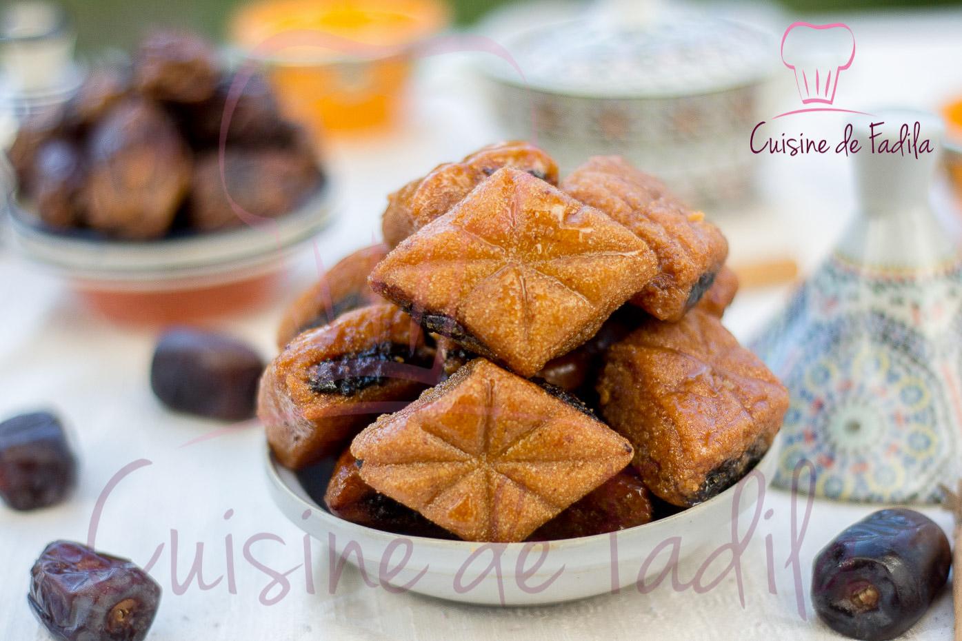 Makrout aux dattes  Choumicha  Cuisine Marocaine Choumicha , Recettes