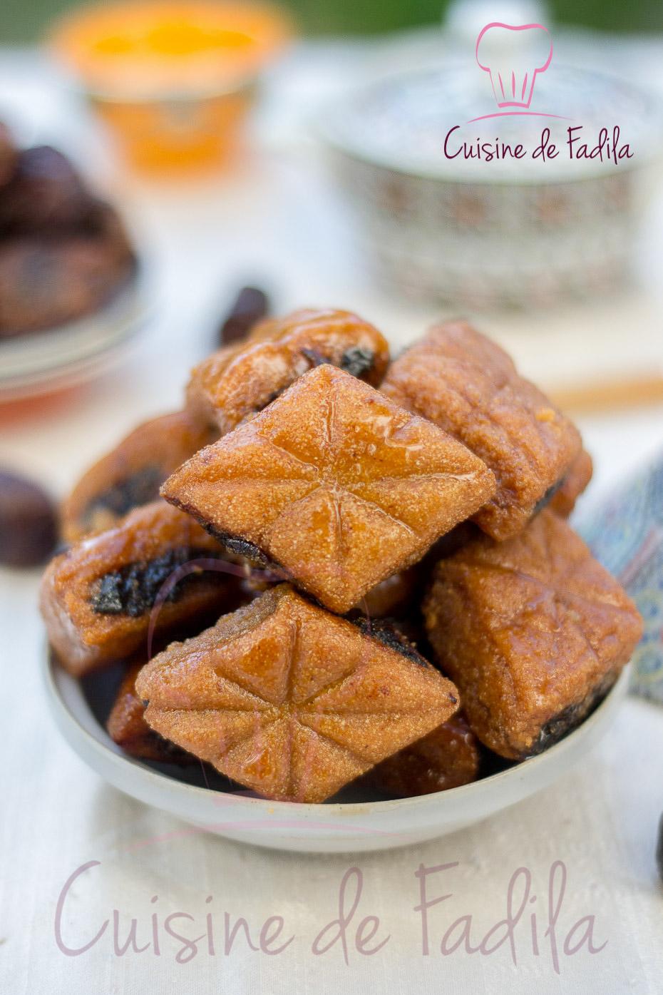 Makrout aux dattes gateaux marocains recettes marocaines