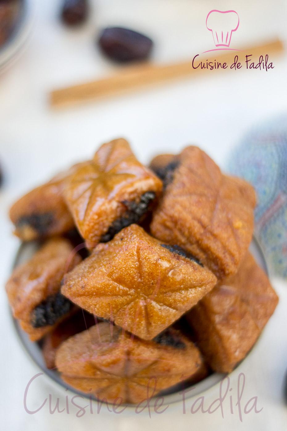 Recettes gâteau marocain Chebakia marocaine Masfouf Fekkas Makrout dattes