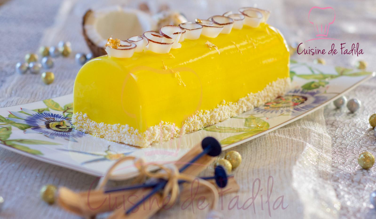 Recette Buche Moule A Cake