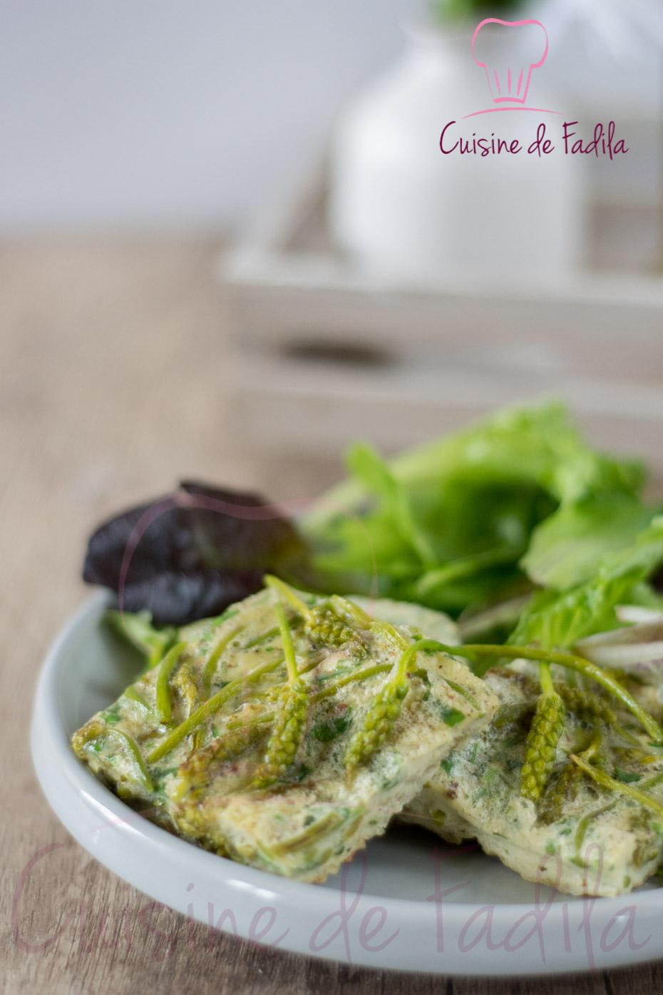 Omelette aux asperges des bois ~ Asperge Des Bois