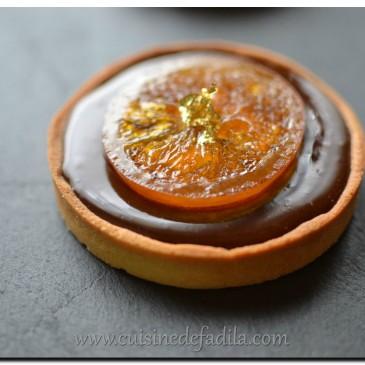 Tartelettes chocolat orange