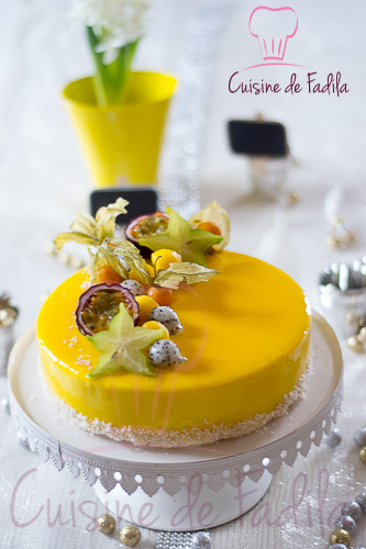 Entremets exotique cuisine de fadila for Cuisine youtube