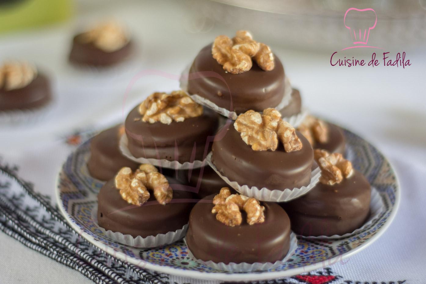 Sabl s aux noix et au chocolat for Cuisine youtube