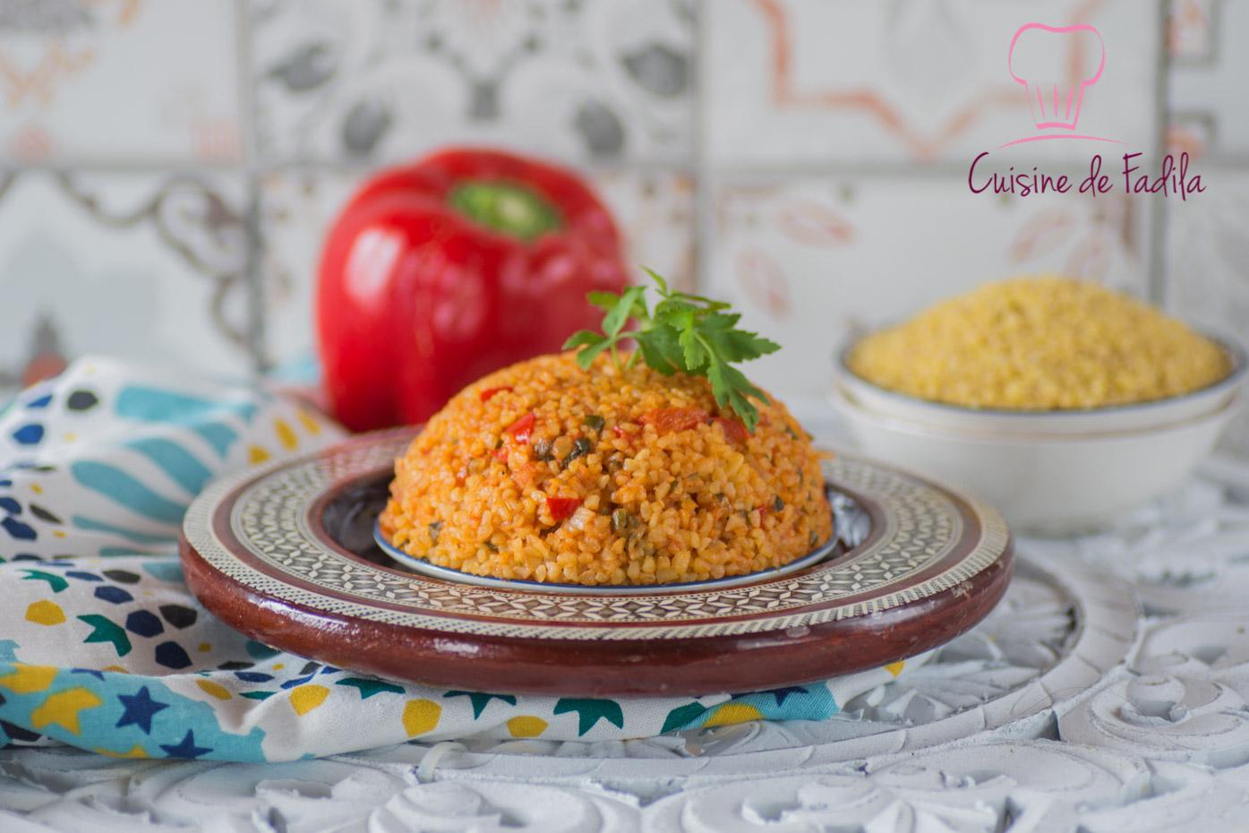 Boulgour la turque bulgur pilavi for Video de cuisine youtube